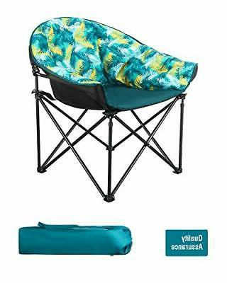 KingCamp Heavy Duty Camping Chair Padded Seat