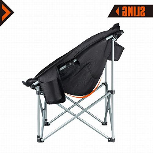 KingCamp Moon Heavy Steel Chair Cooler