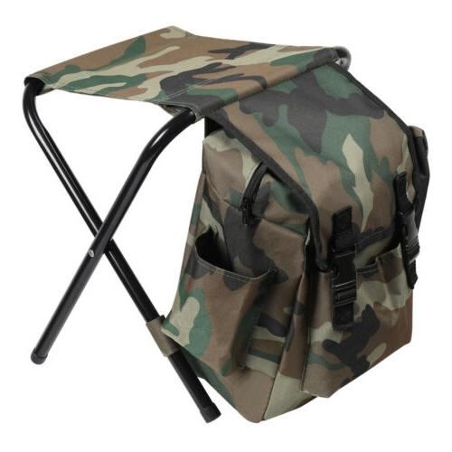 portable folding camping fishing chair stool travel