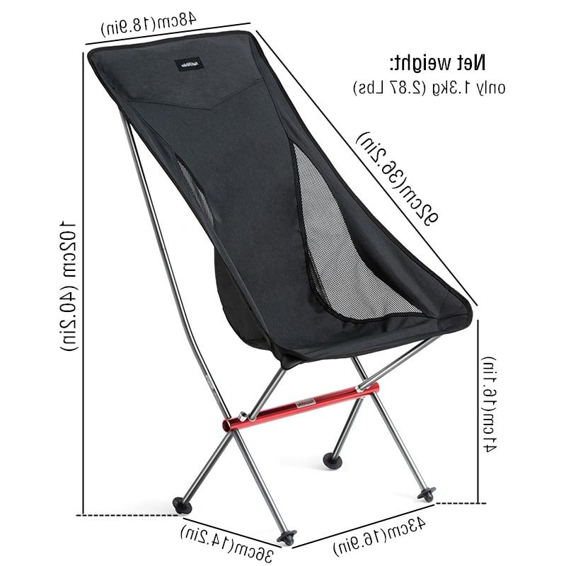 Naturehike Lightweight <font><b>Heavy</b></font> <font><b>Duty</b></font> Foldable <font><b>Beach</b></font> Fold Up Portable <font><b>Chair</b></font>