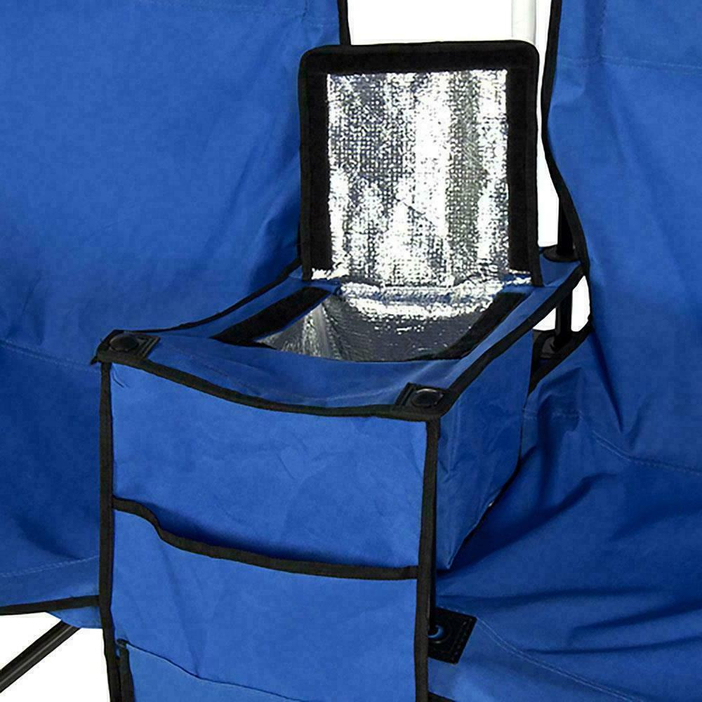 Folding Beach Double Table Cooler Fishing Travel