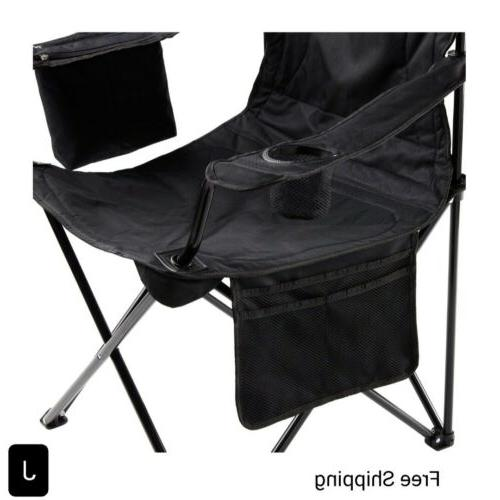 New, Coleman Camping Chair with 4 Can Cooler, New
