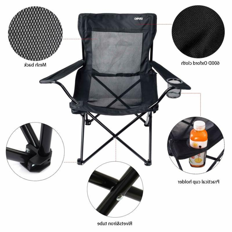 NEW Folding Chair Camp Sport-Steel Cup