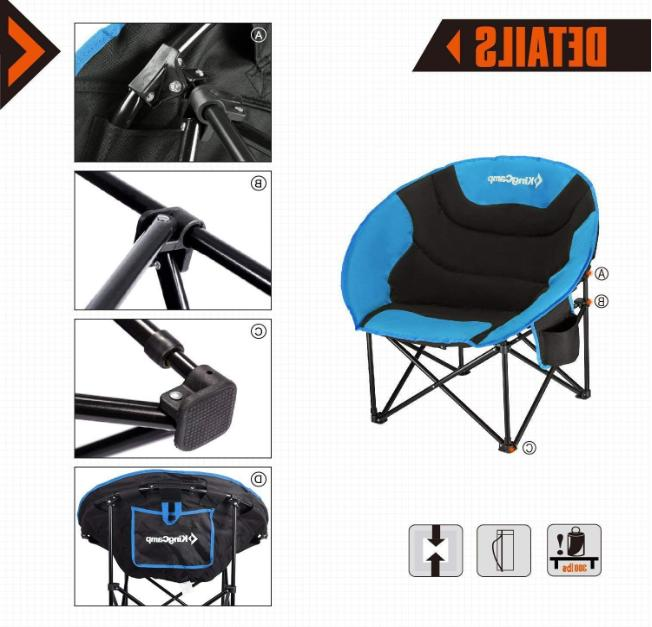 New Portable Steel Camping With Cup Holder Bag