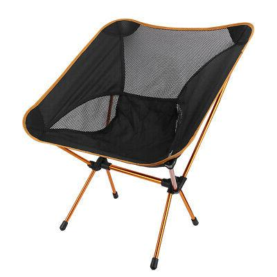 New Ultralight Outdoor Folding Chair Camping Heavy Load Seat