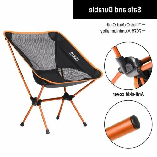 New Ultralight Outdoor Folding Chair Camping Heavy