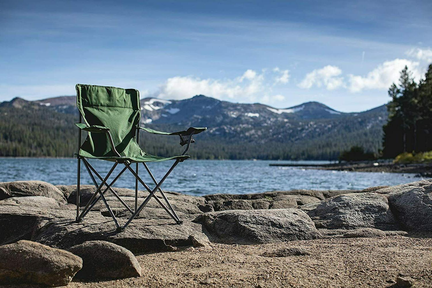 ONIVA Time Portable Folding Camp Chair, Green