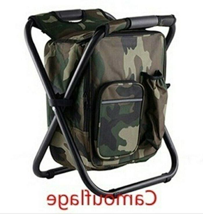 Outdoor Camping 2 In 1 Fishing Chair Portable Hiking Seat