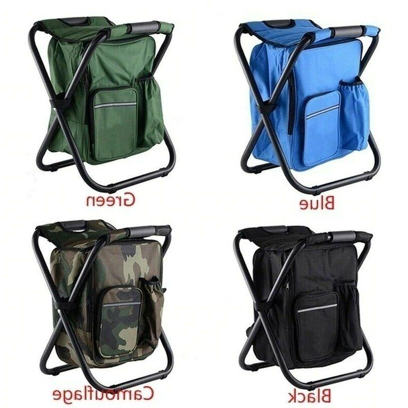 Outdoor Backpack 2 In 1 Fishing Seat