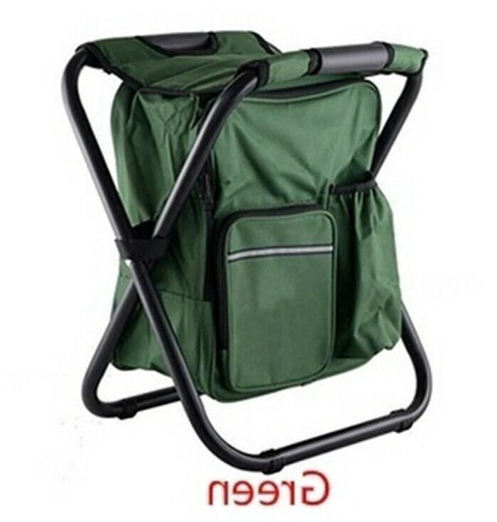 Outdoor Camping 2 In 1 Stool Fishing Seat