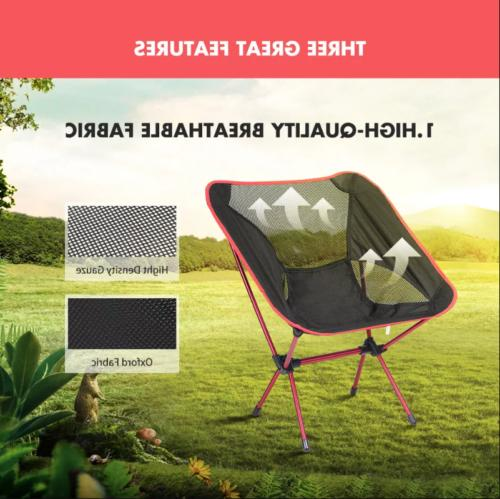Ultra-Light Folding Camping Picnic Beach Seat