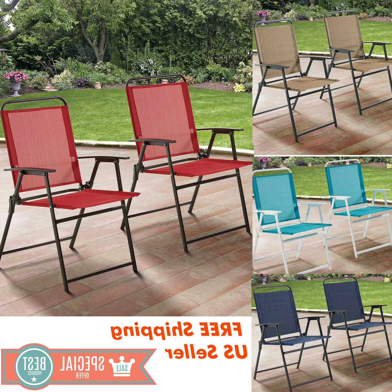 outdoor folding patio chairs set of 2