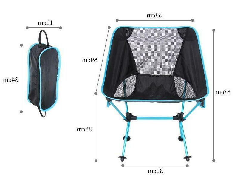 Outdoor High Back Folding Beach Chair Furniture Portable Seat