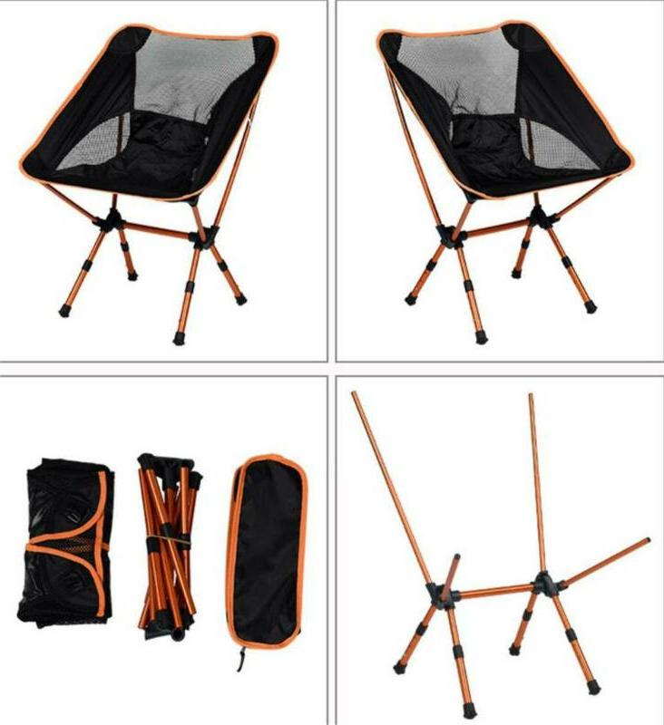 Outdoor Portable Folding Chair Backpacking Hiking Picnic Seat