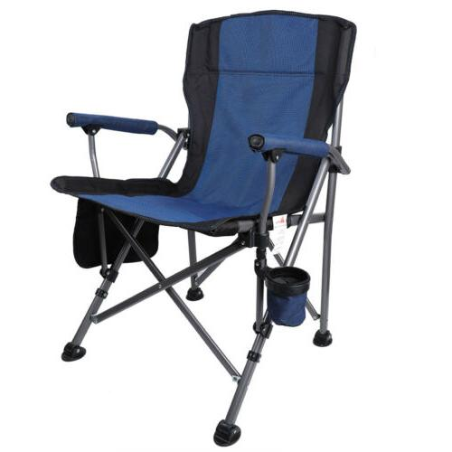 Outdoor Chair Camping Folding Chairs Rocking Cup Holder