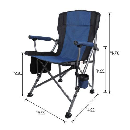 Outdoor Folding Chairs Cup Holder
