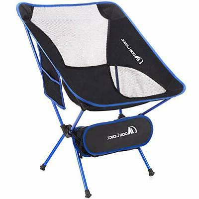 Chair Portable Outdoor Ultralight Camping Fishing Stool 2 Pack