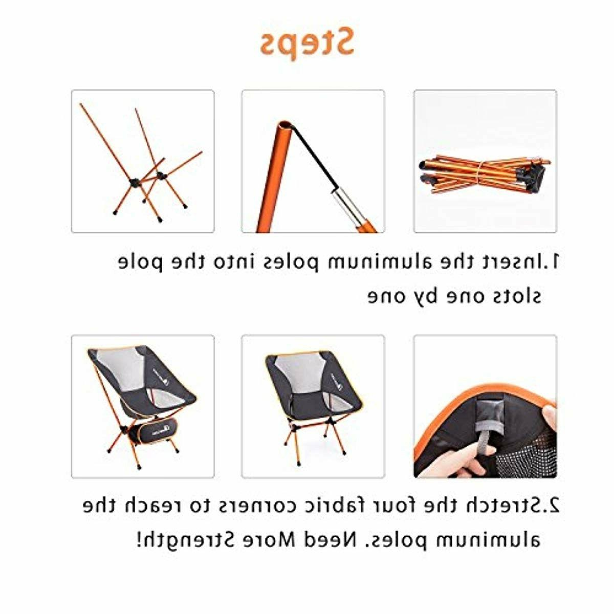 Outdoor Chairs with Carry Camping,