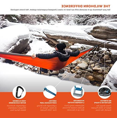 Outpost Adjustable Cinch Suspension System- Includes 100% Polyester Wire or Double Parachute