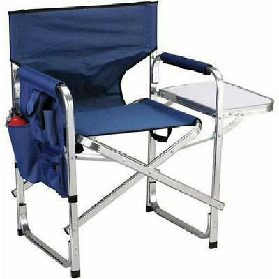 Oversized Folding Directors Chair Portable Camping Outdoor S