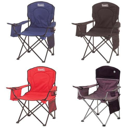 oversized quad chair with cooler 4 colors