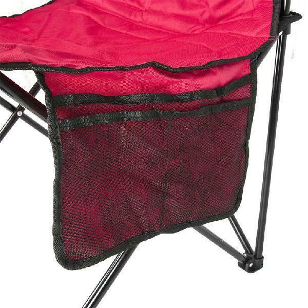 Coleman Quad Camp Chair with Cooler Pouch,