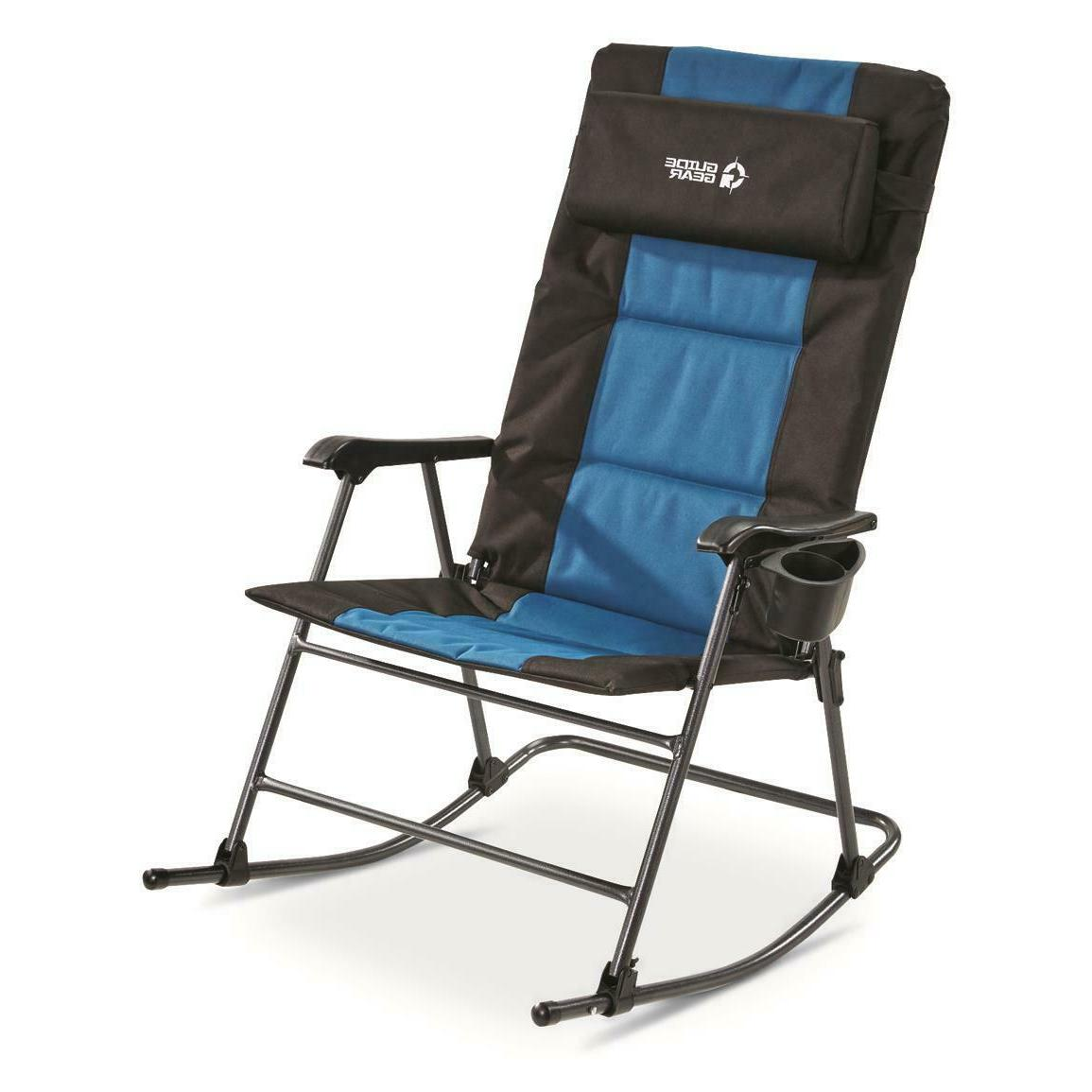 Guide Gear Oversized Rocking Camp Chair, 500-lb. Capacity NE