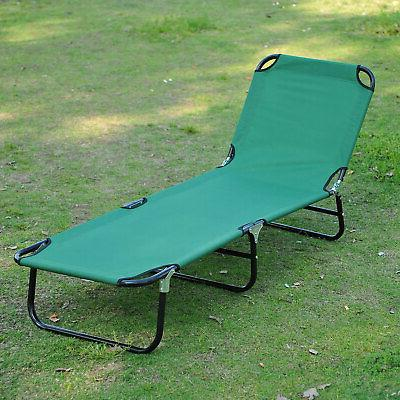 patio foldable chaise lounge chair