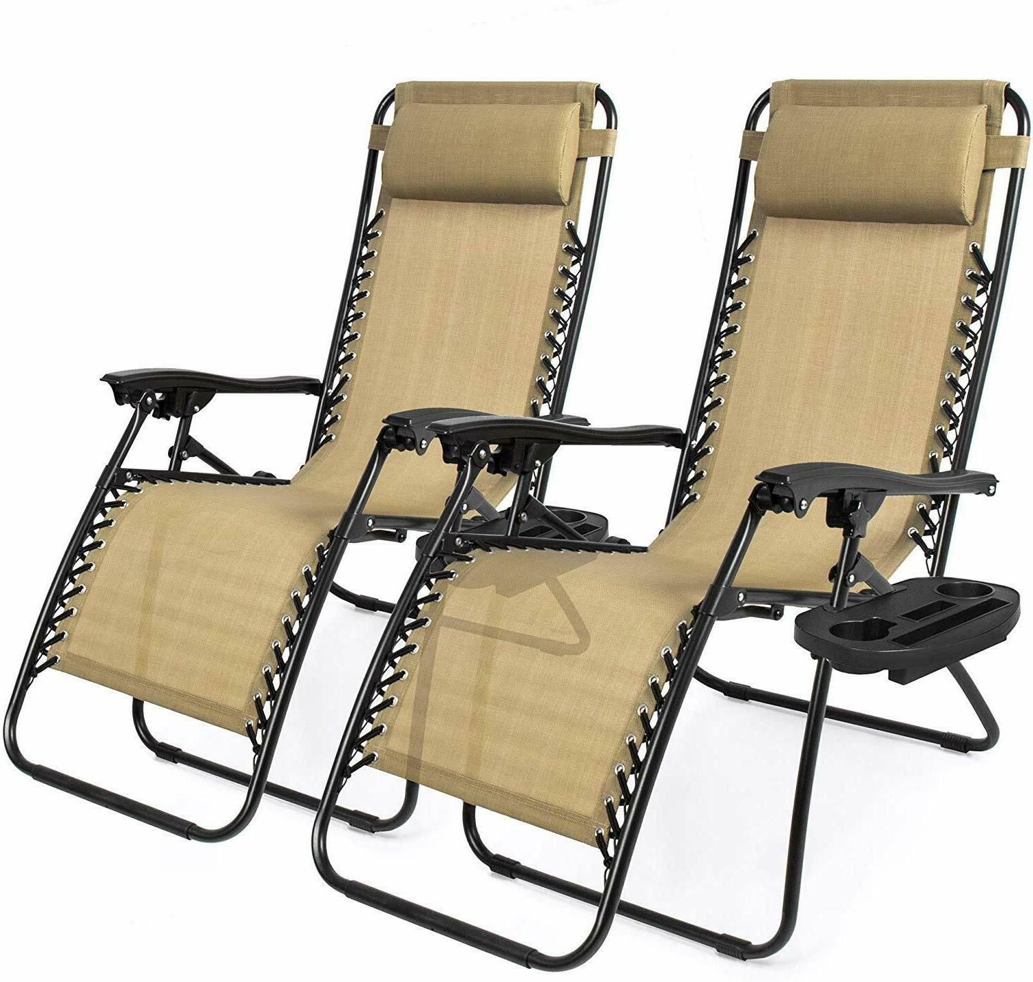 patio zero gravity lounge chair picnic camping