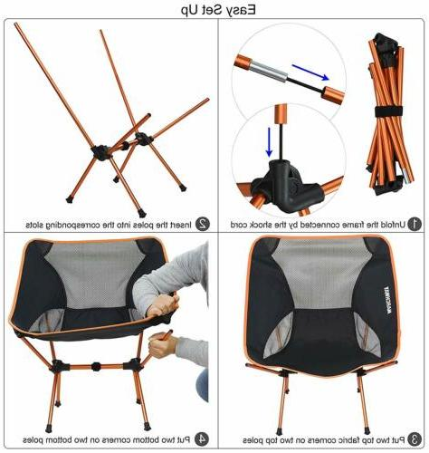 MARCHWAY Camping Adjustable Height Compact GIFTS