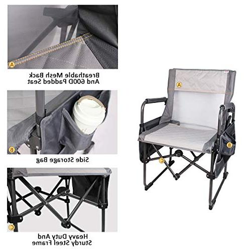 Zenree Chair Breathable Duty Deck Chairs Armrest Holder