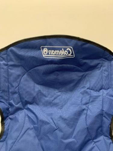 Coleman Portable cushioned Blue