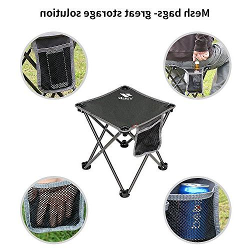 Portable Chair for Camping Hiking and Beach, Grey Bag