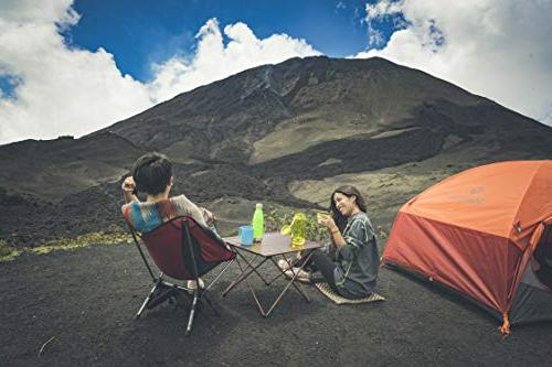 Trekology Camping Tables Table Top: Folding in Picnic, Camp, Useful Cooking Burner,