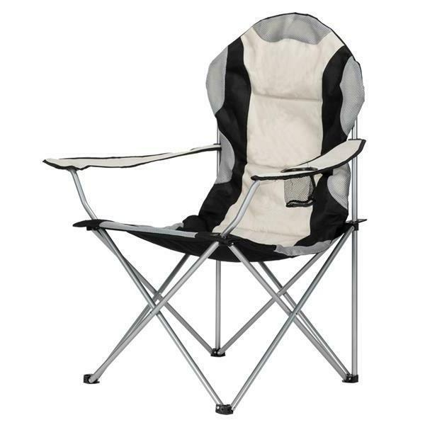 portable fishing camping chair seat cup holder