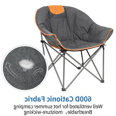 Portable Camping Outdoor Chair with Oversize