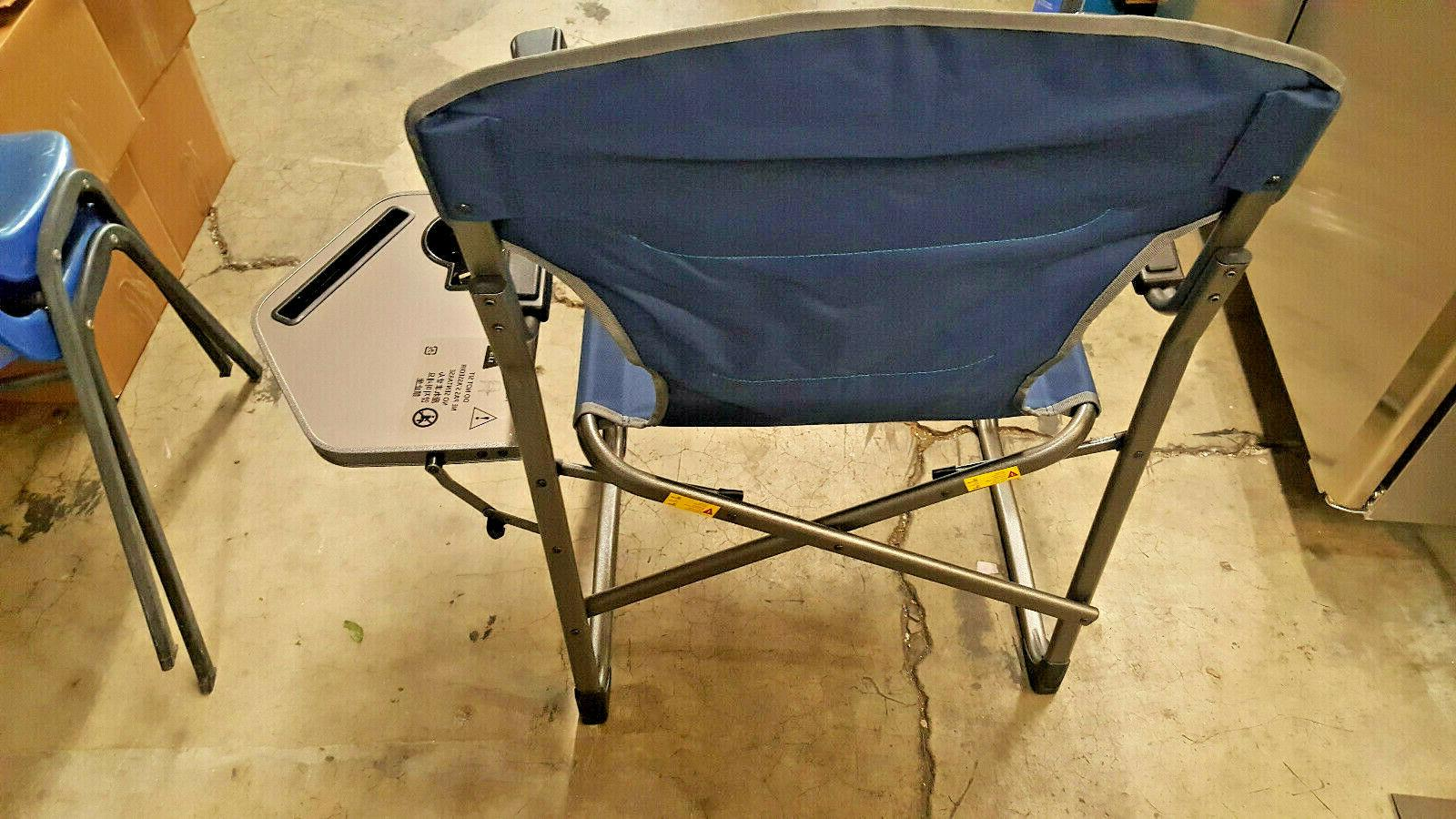 Timber Camping Chair Side Table Golf