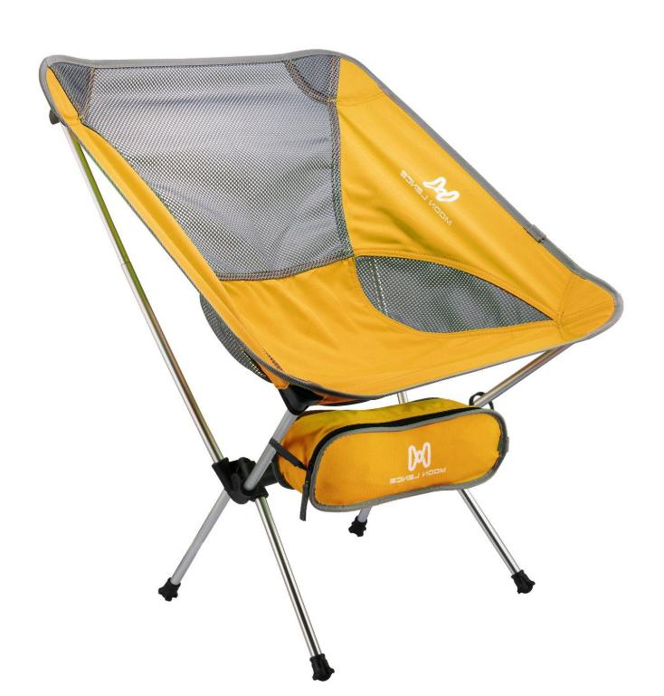 Portable Backpacking Seat Yellow