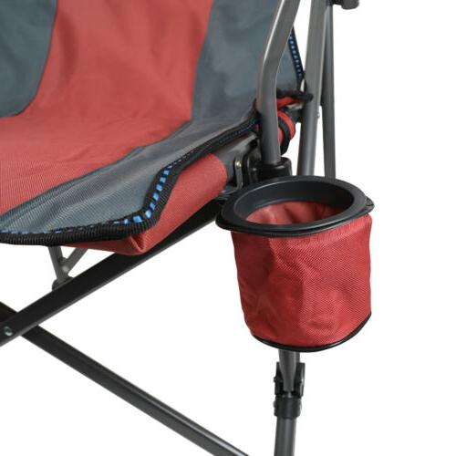 Camping Steel Portable Cup Holder 600D