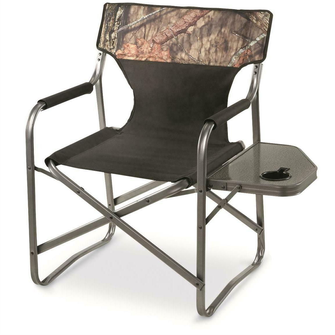 portable folding director chair lounge camping 500lb