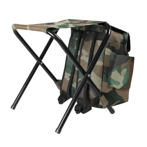 Portable Folding Stool Backpack Travel Camping