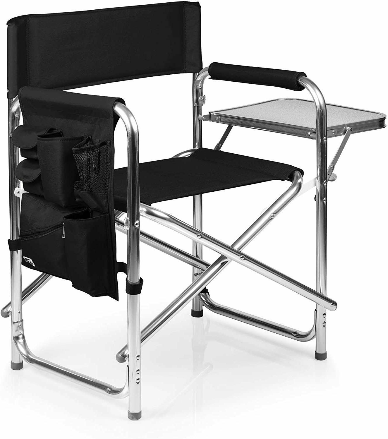 Portable Sports Chair with Insulated Table