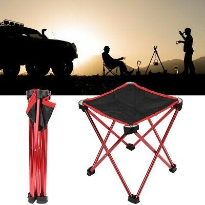 Portable Folding Chair Camping Fishing Lightweight Travel