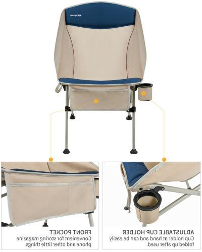 Folding Chair with Cup and Bag