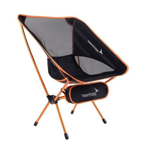 portable lightweight folding camping chair backpacking hikin