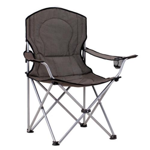 KingCamp Folding Chair with holder for
