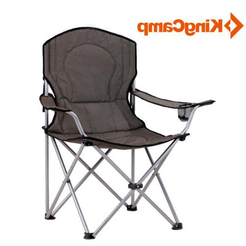 portable lightweight folding chair with mesh cup