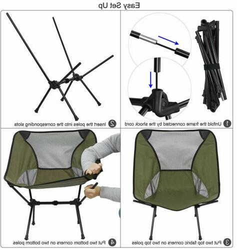 Portable Folding Camping Chair Travel Beach