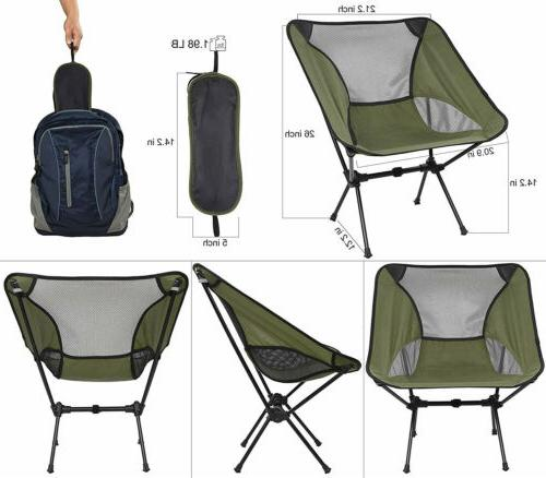 Portable Ultralight Folding Chair Outdoor Travel Beach