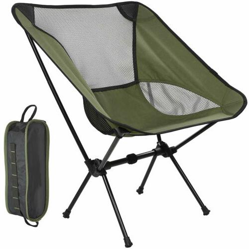 portable ultralight folding camping chair outdoor camp